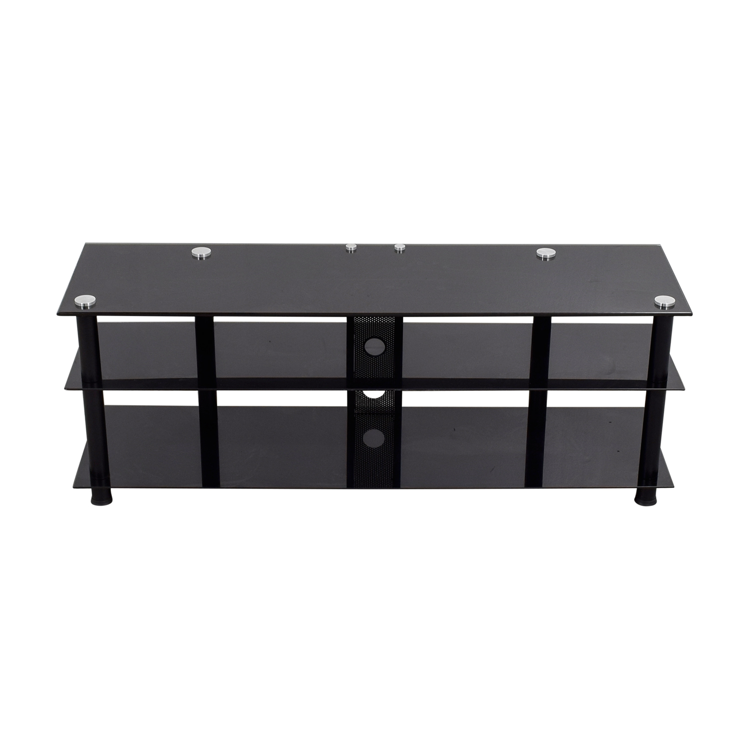 Black Glass TV Stand price