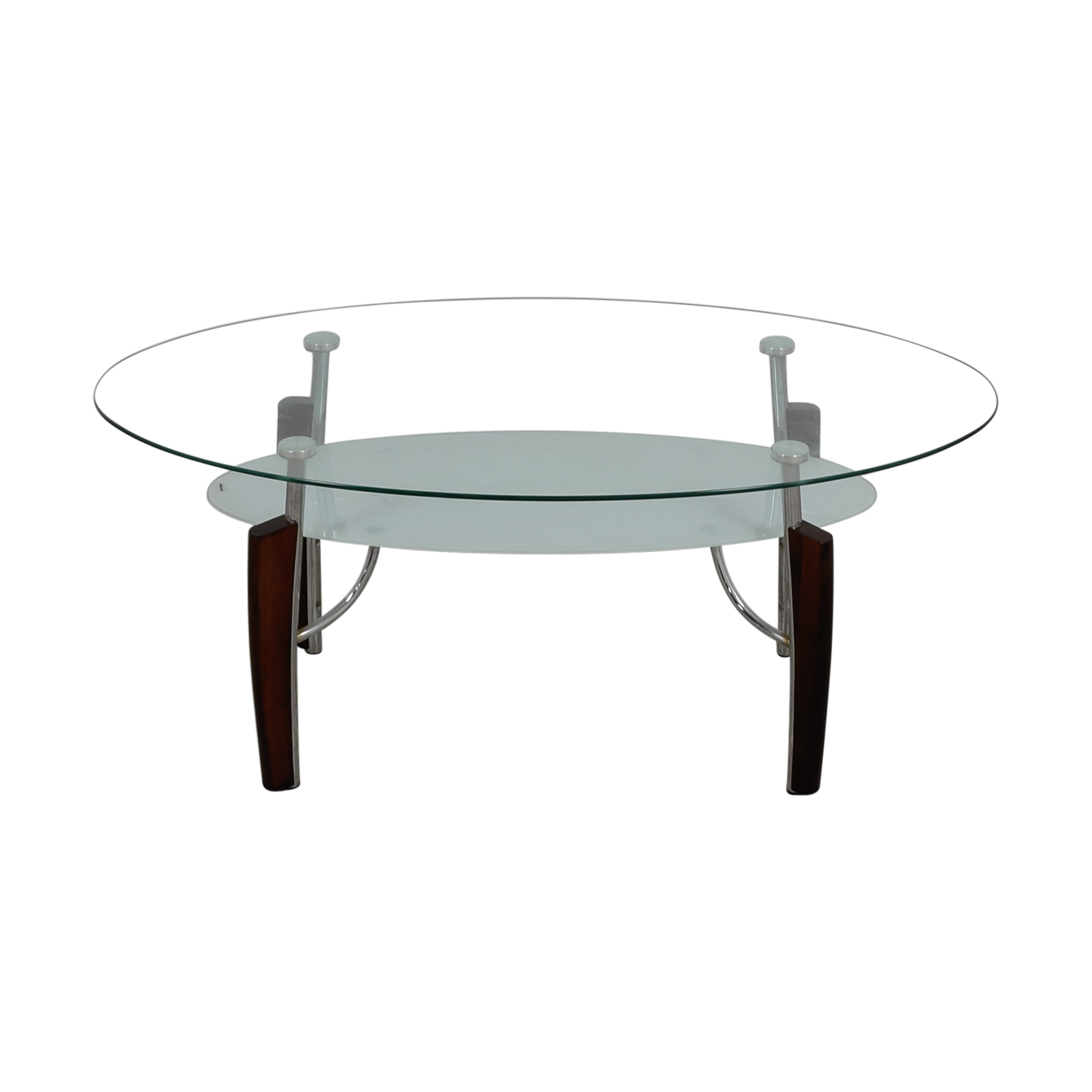 Jennifer Convertibles Oval Gl Coffee Table Online
