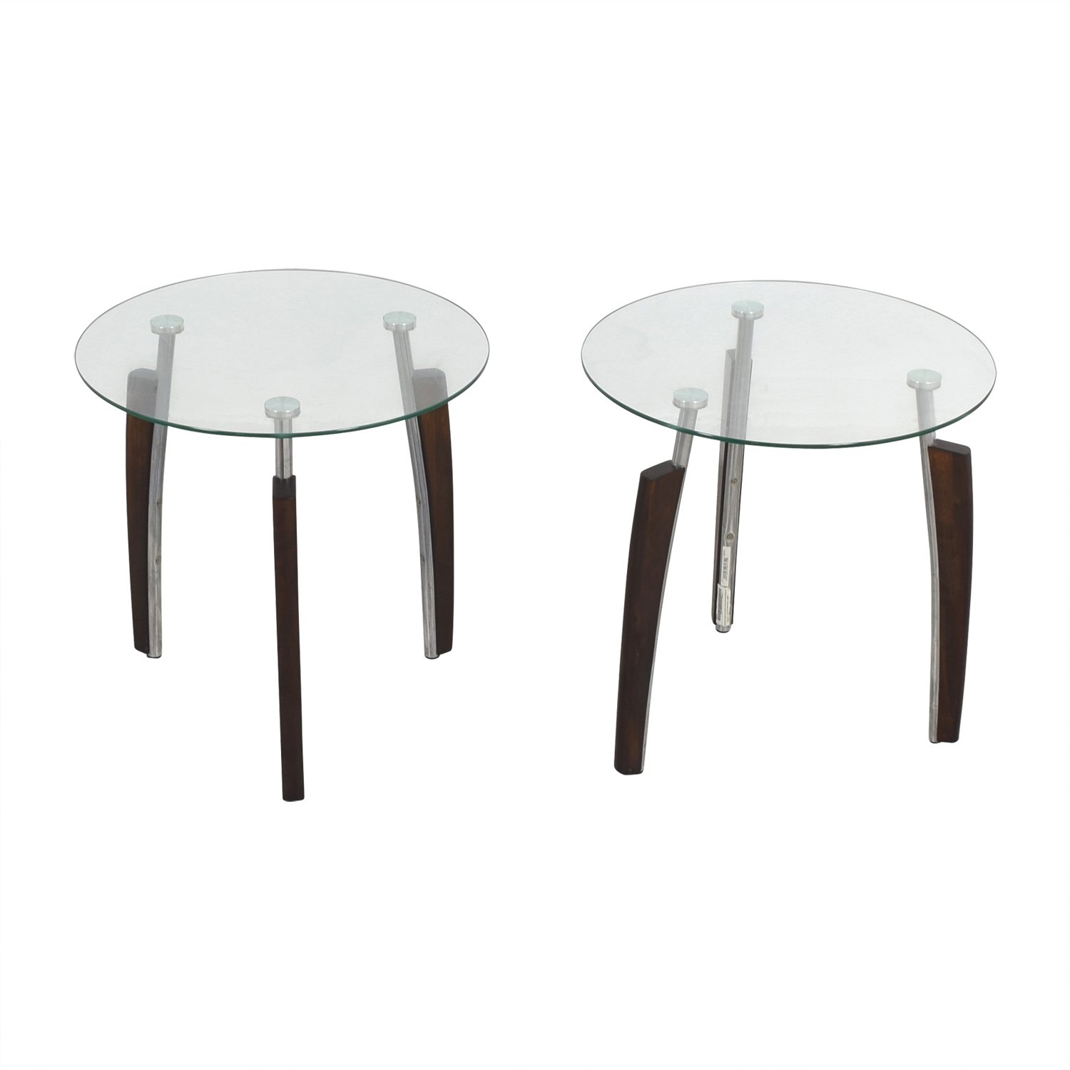 buy Jennifer Convertibles Jennifer Convertibles Round Tripod Side Tables online