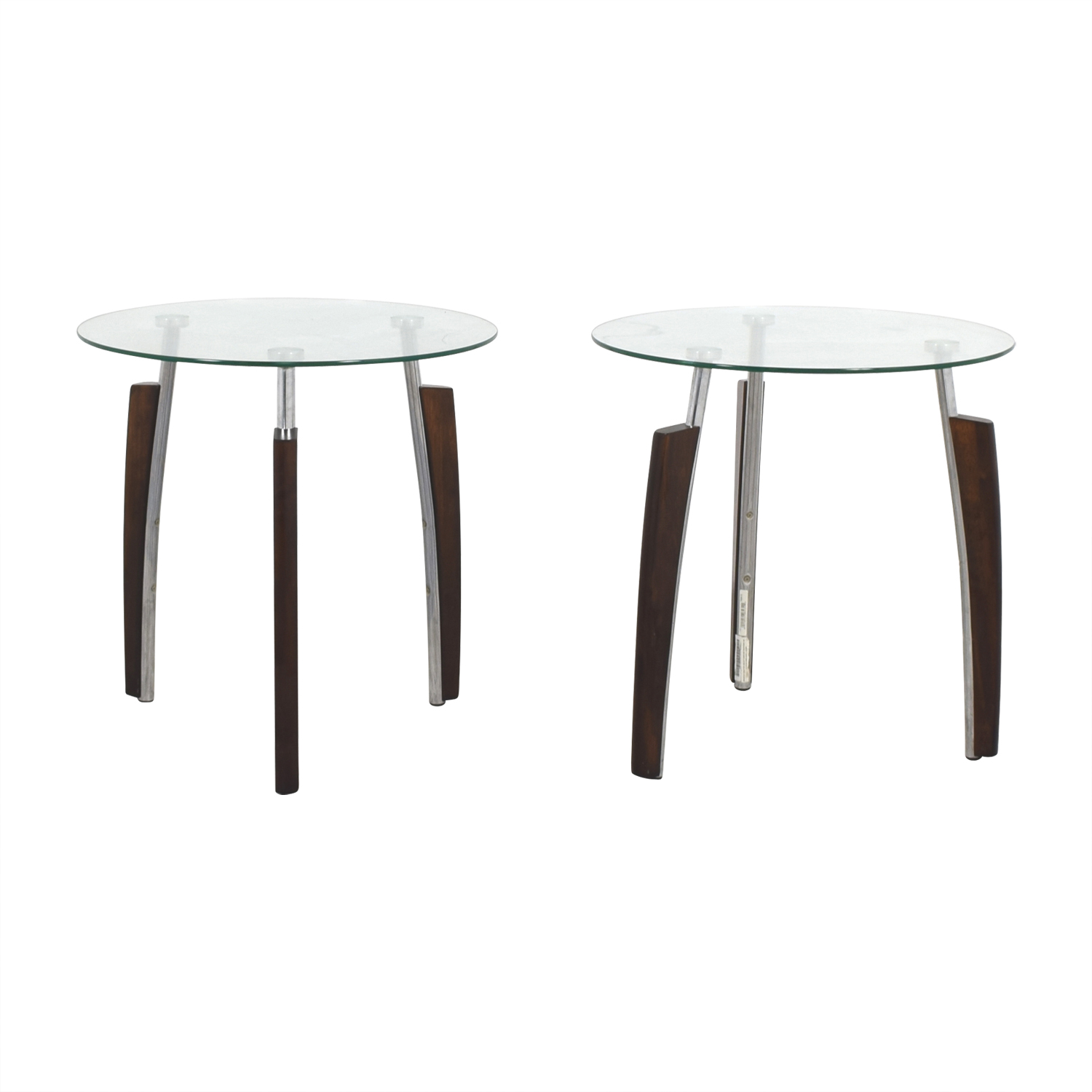 Jennifer Convertibles Jennifer Convertibles Round Tripod Side Tables nj