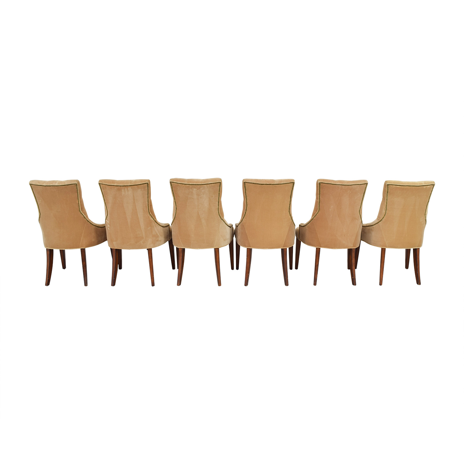 Tan Tufted Velvet Chairs price