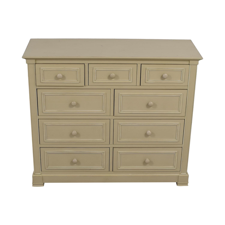 shop  Cream Classic Nine-Drawer Dresser online