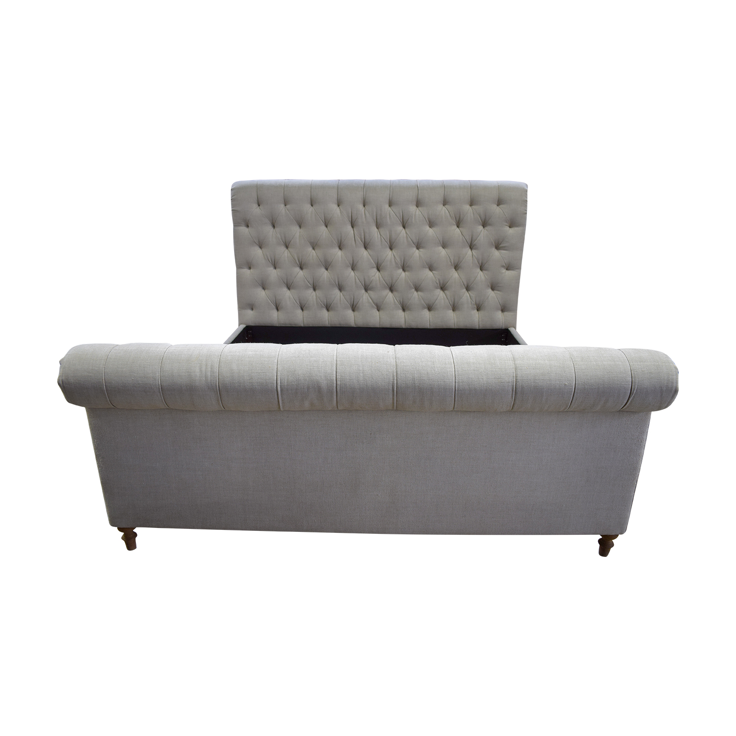 shop  King Tufted Sleigh Bed online