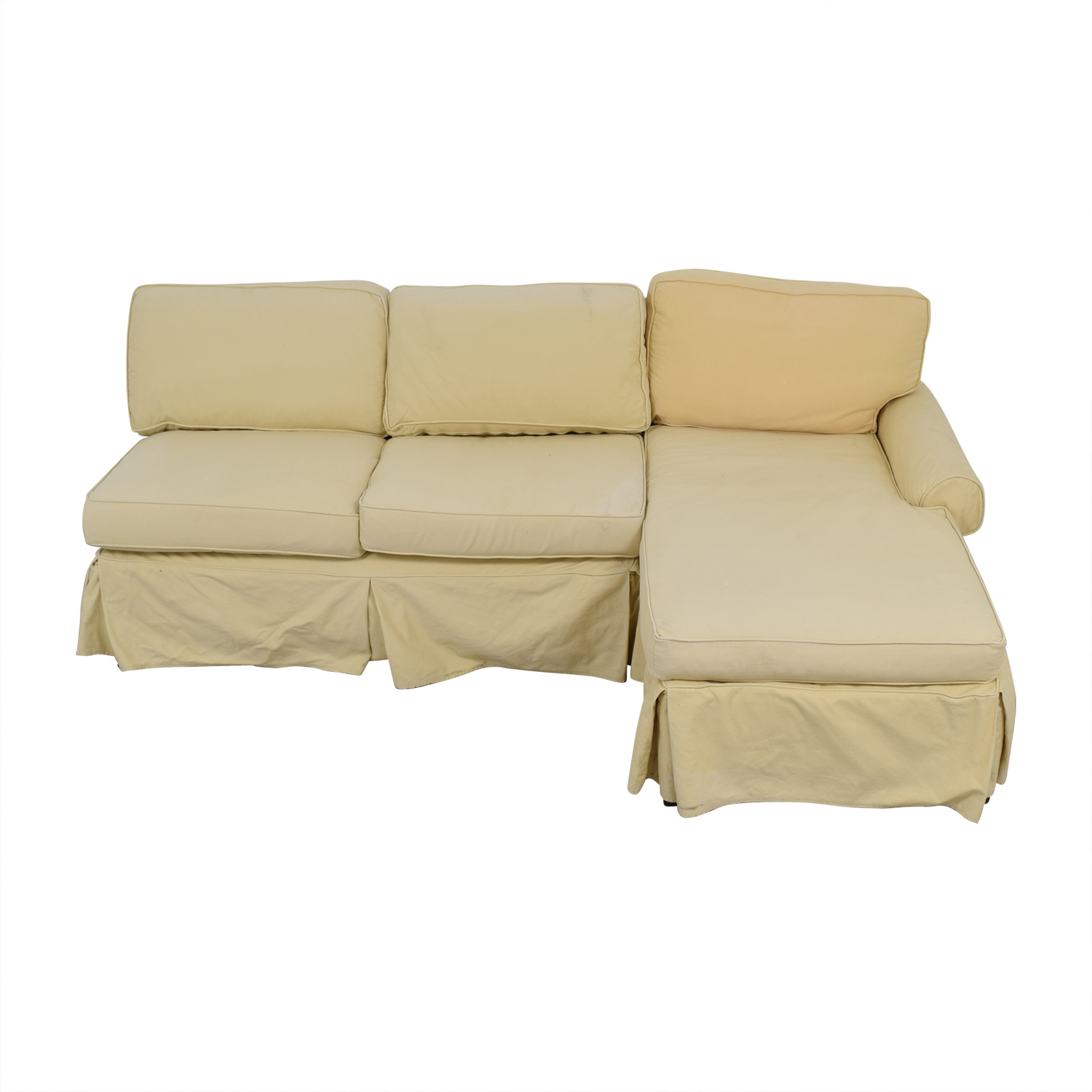 Mitchell Gold + Bob Williams Mitchell Gold + Bob Williams Tan Sectional dimensions