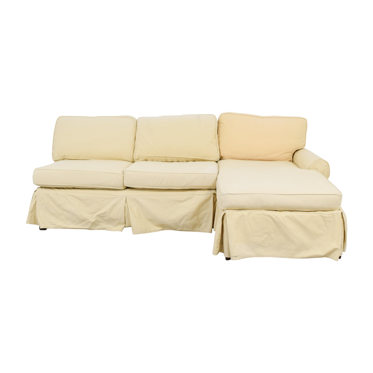 shop Mitchell Gold + Bob Williams Tan Sectional Mitchell Gold + Bob Williams