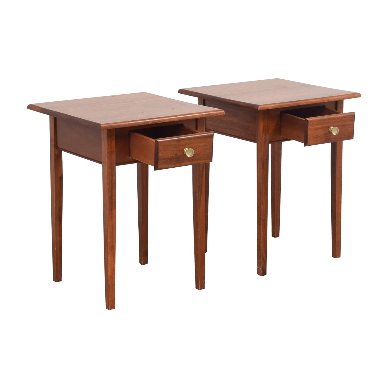 buy Gothic Cabinet Craft Wood Single Drawer Nightables Gothic Cabinet Craft End Tables