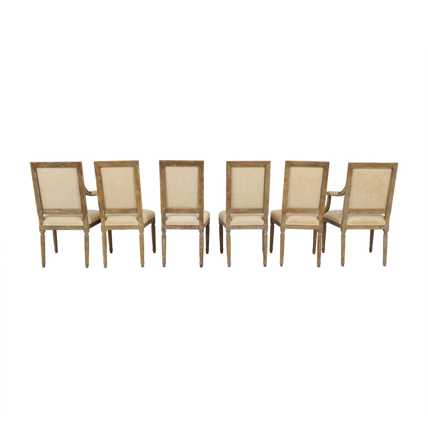 Restoration Hardware Restoration Hardware Vintage Square Chairs
