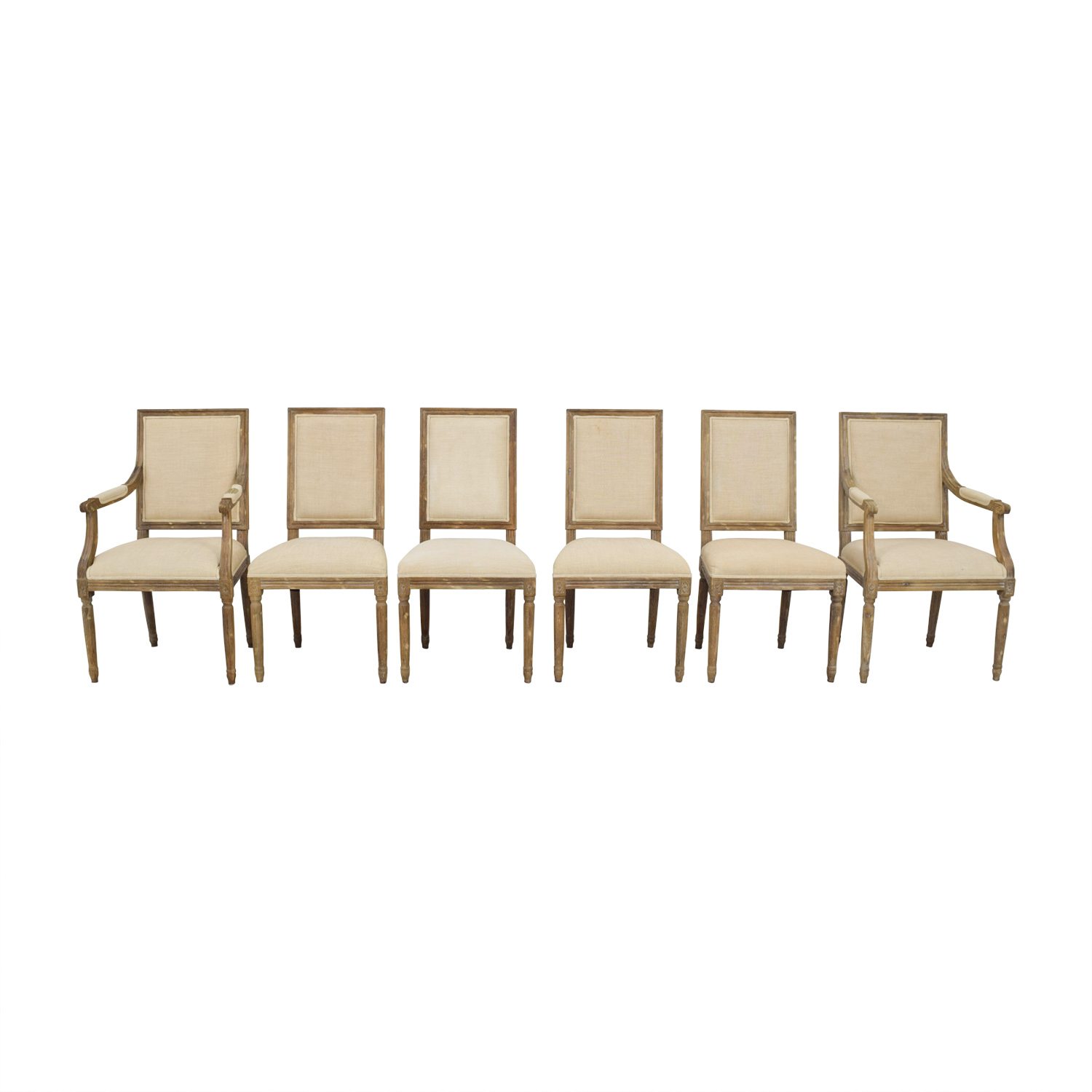 Restoration Hardware Restoration Hardware Vintage Square Chairs Dining Chairs