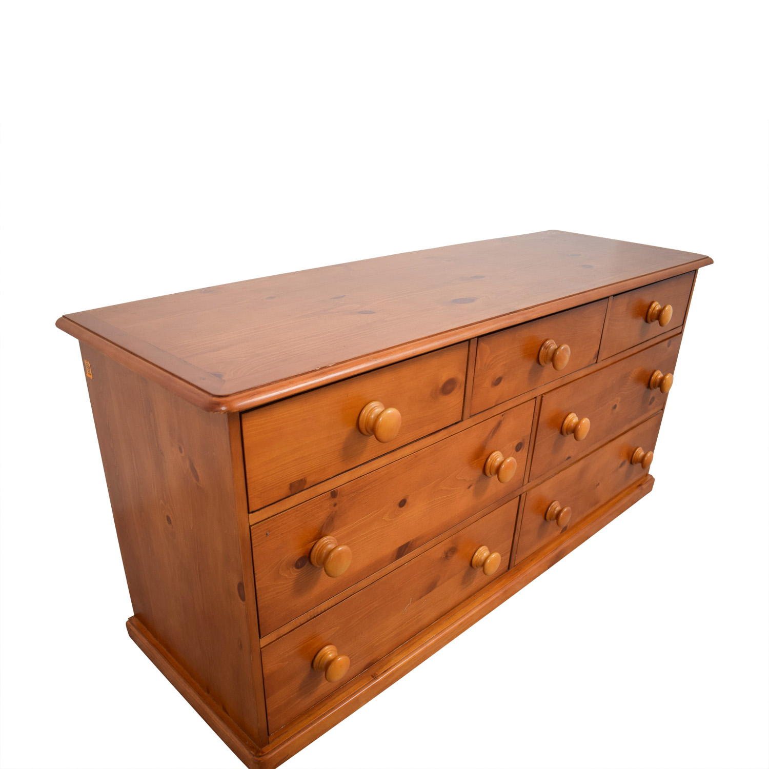 80 off pottery barn pottery barn seven drawer chest of drawers storage. Black Bedroom Furniture Sets. Home Design Ideas