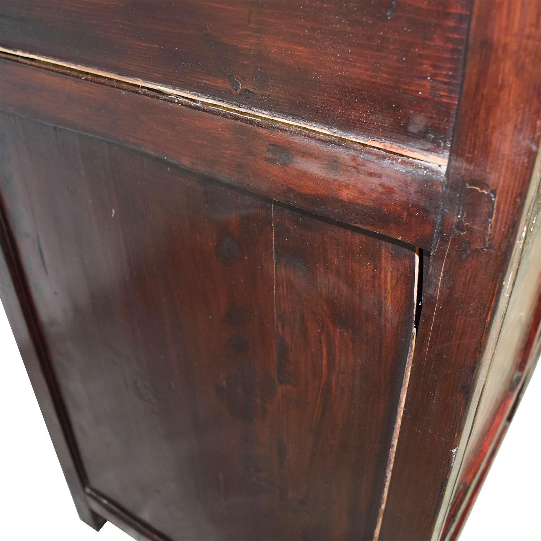 buy Authentic Custom Tibetan Painted Cabinet
