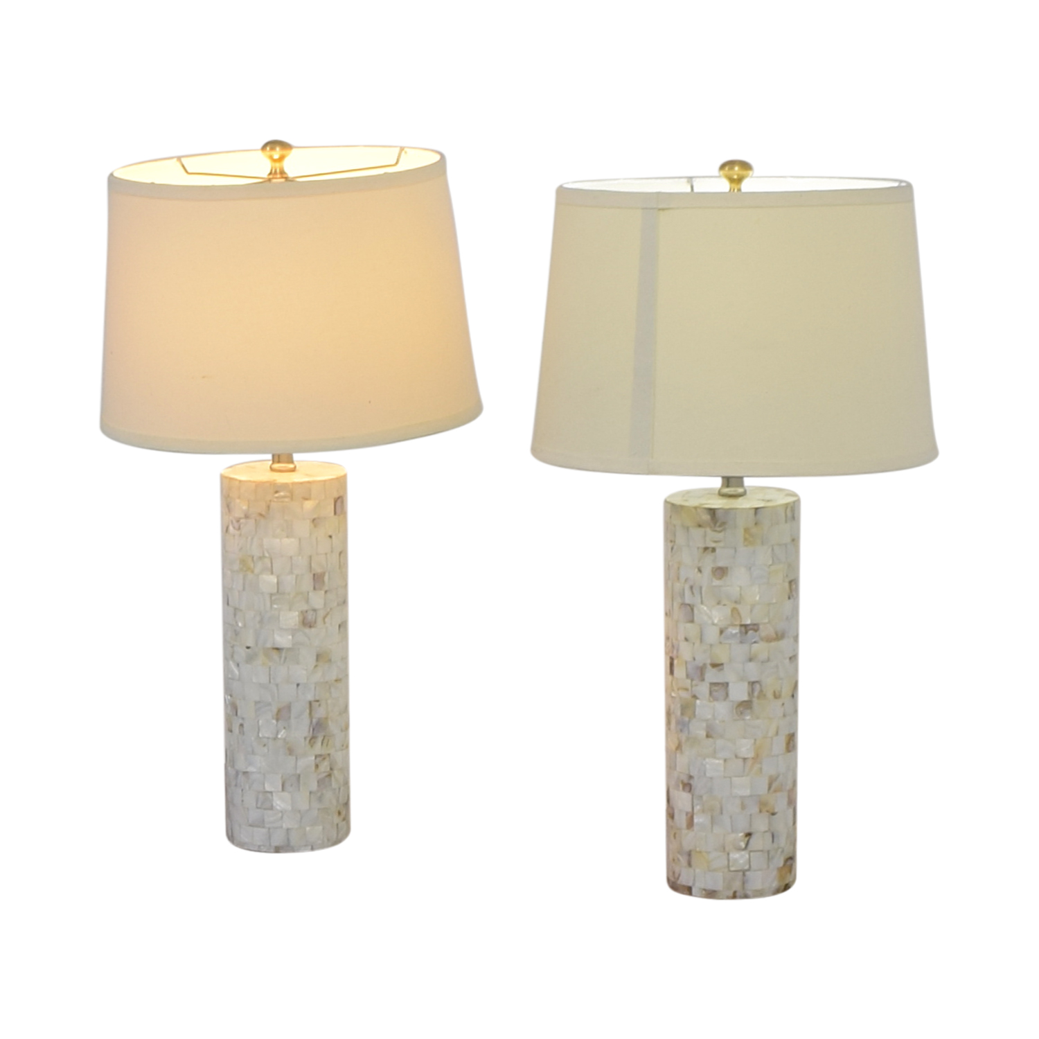 Mother Of Pearl Accent Lamp: Mother Of Pearl Table Lamps / Decor