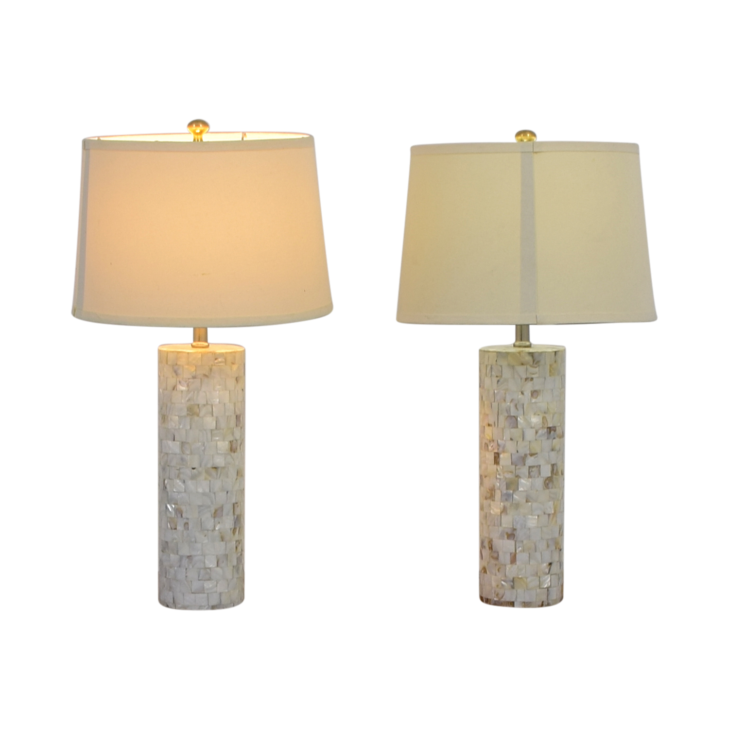 Mother of Pearl Table Lamps for sale