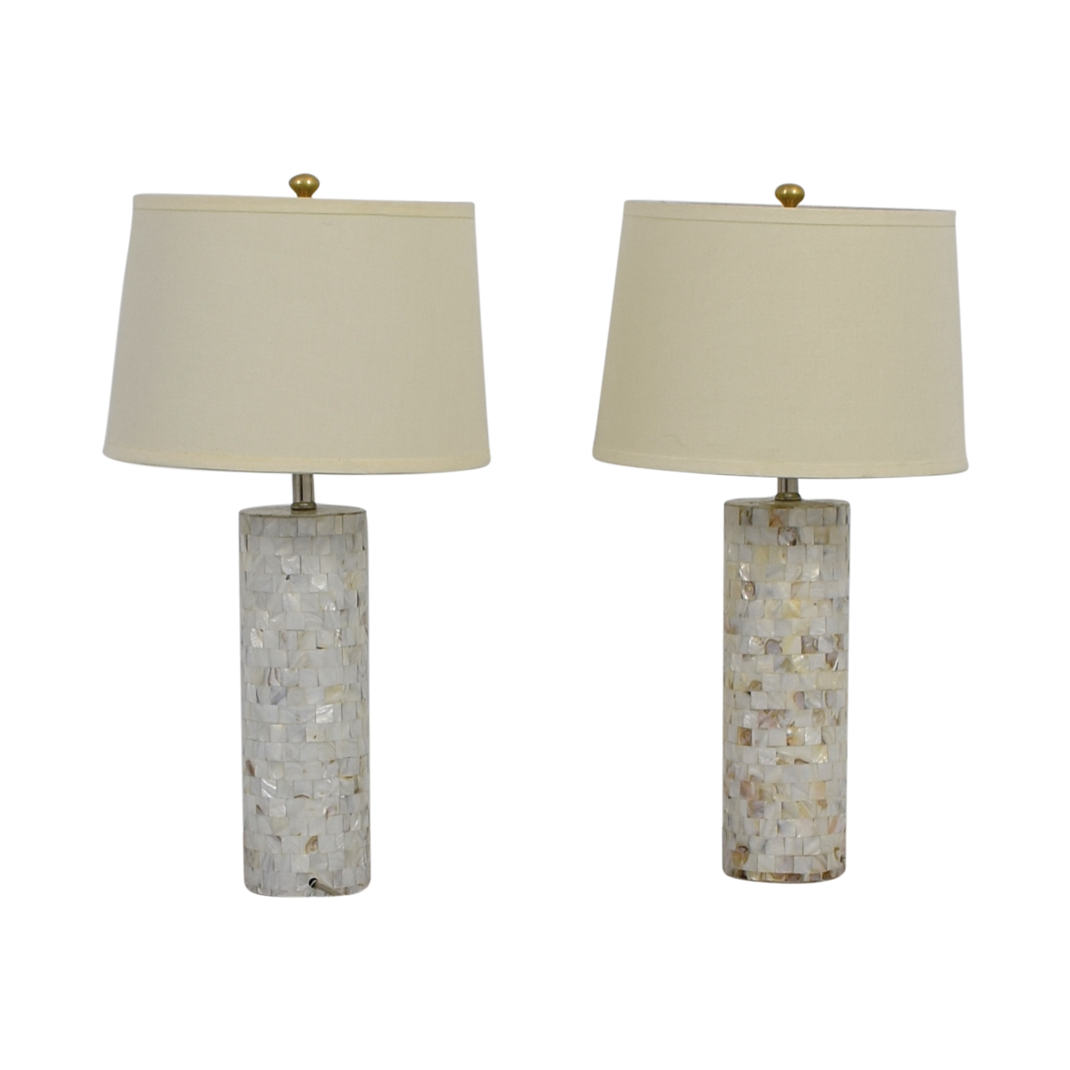 Mother of Pearl Table Lamps dimensions