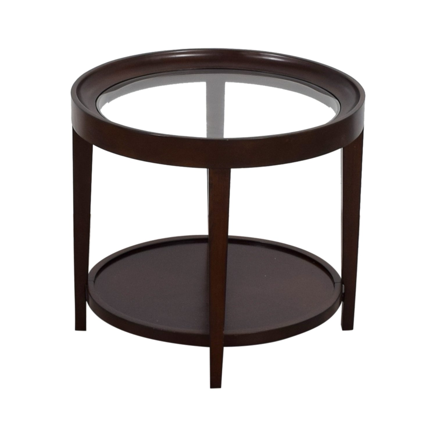 Carson Carson Round Glass End Table price