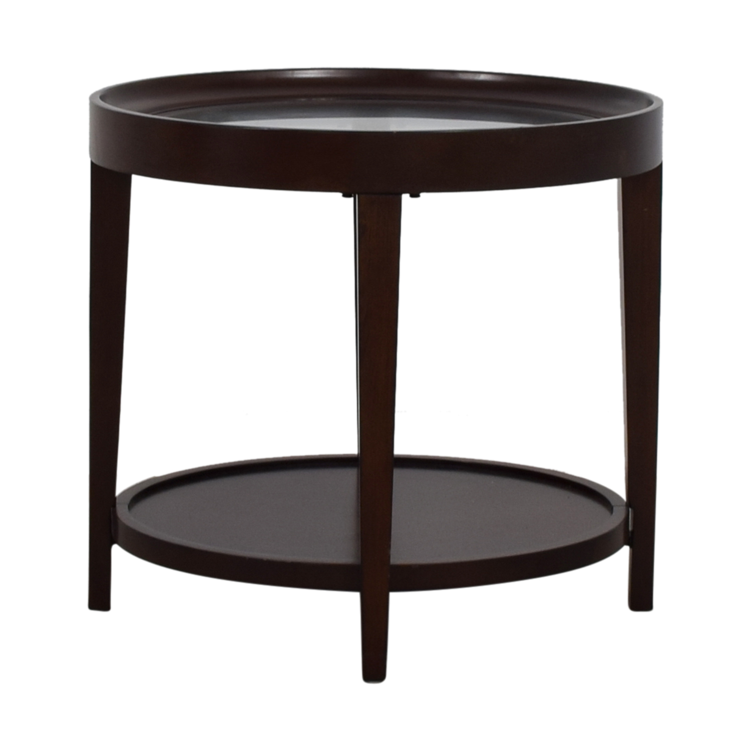 Carson Carson Round Glass End Table coupon