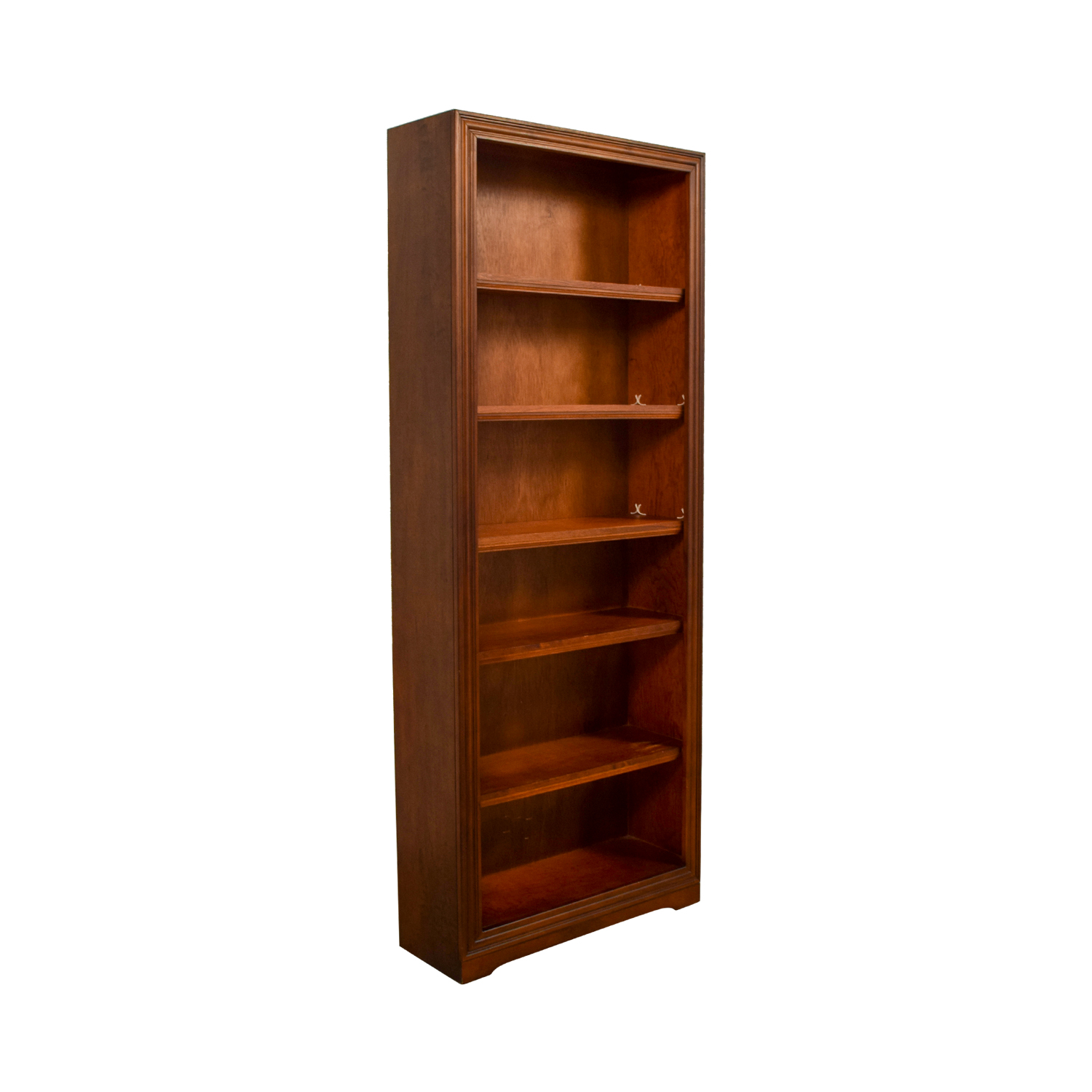 52 Off Tall Wood Bookcase Storage