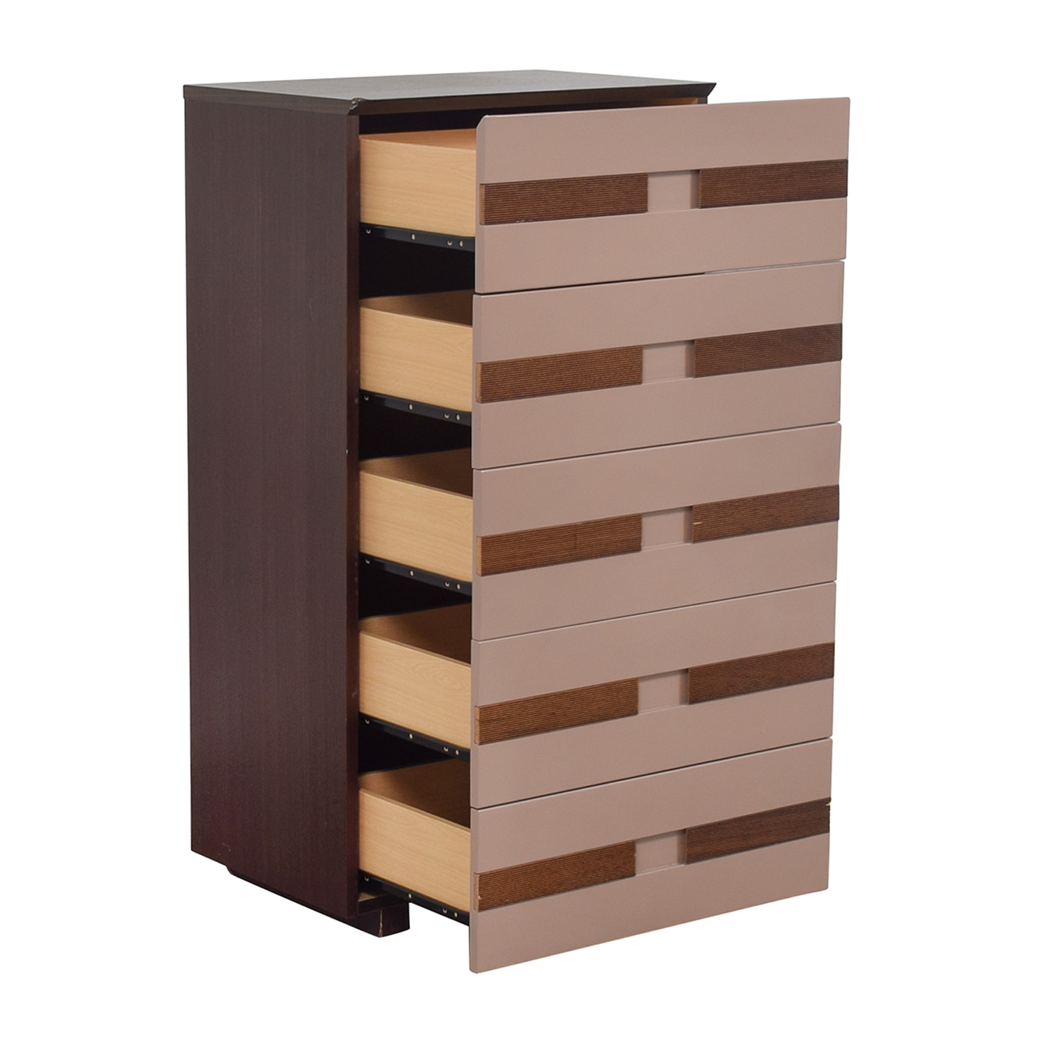 Three Tone Five Drawer Chest discount