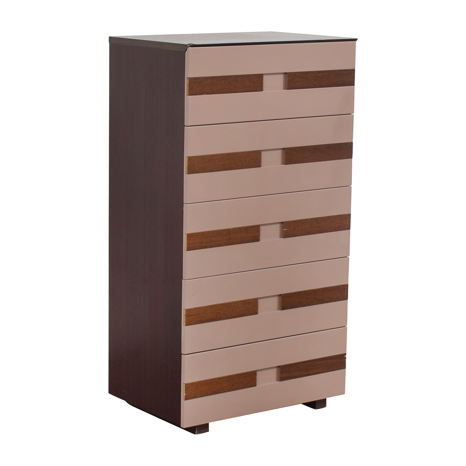 buy Three Tone Five Drawer Chest