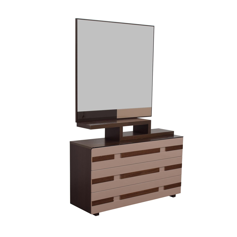 Spanish Three-Drawer Dresser with Mirror coupon