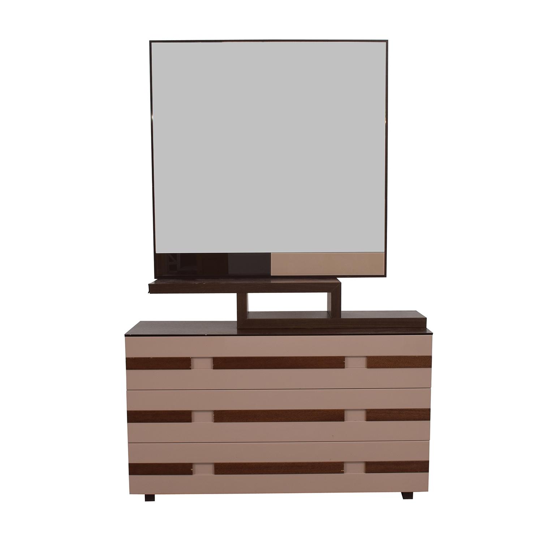 shop  Spanish Three-Drawer Dresser with Mirror online
