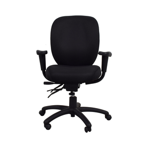 Offices to Go Offices to Go Black Quilt Office Chair price