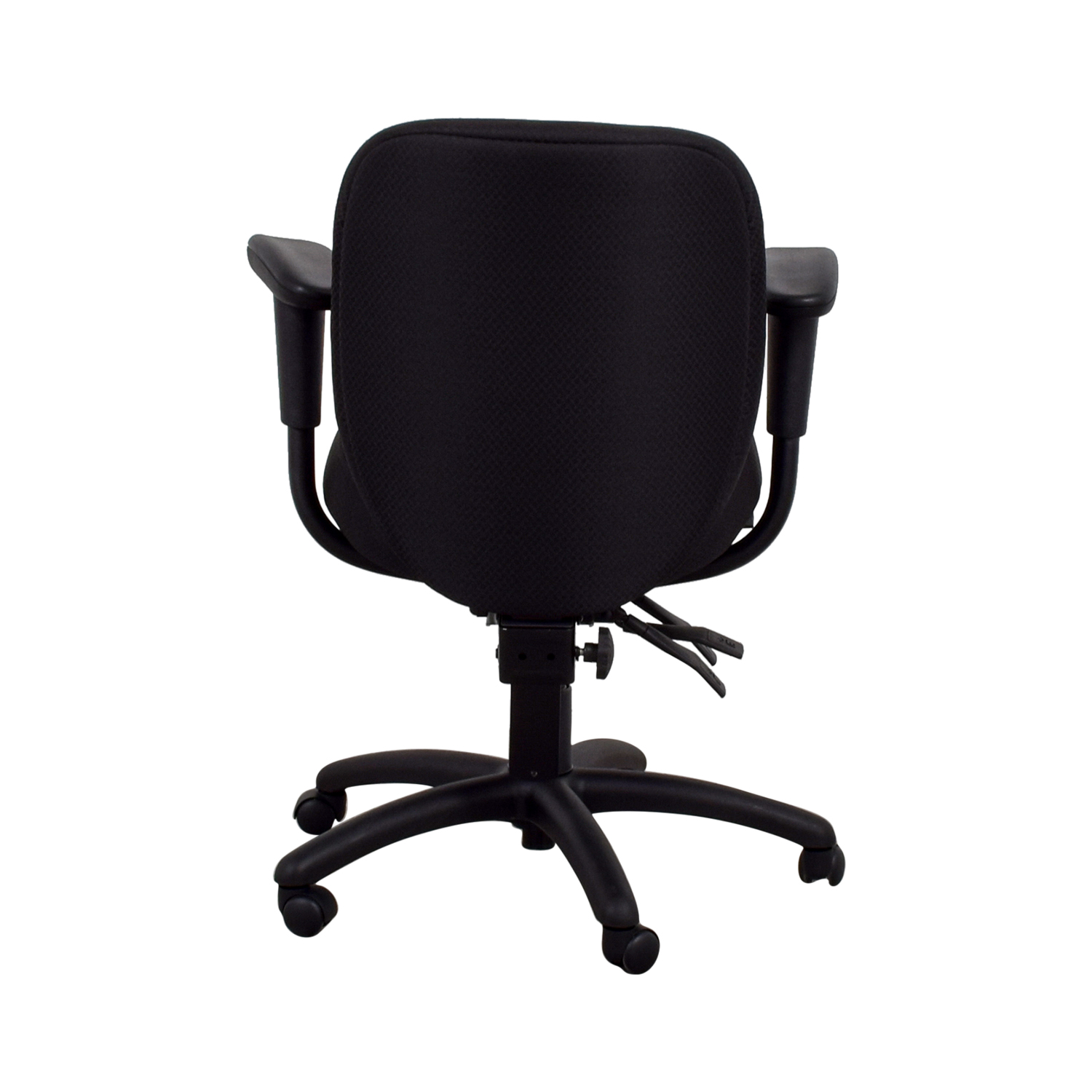 Offices to Go Offices to Go Black Quilt Office Chair second hand