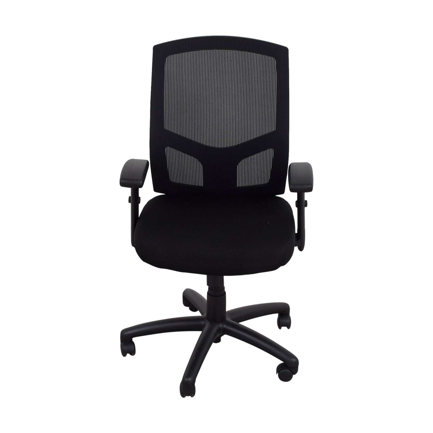 87 off offices to go offices to go black office chair chairs. Black Bedroom Furniture Sets. Home Design Ideas