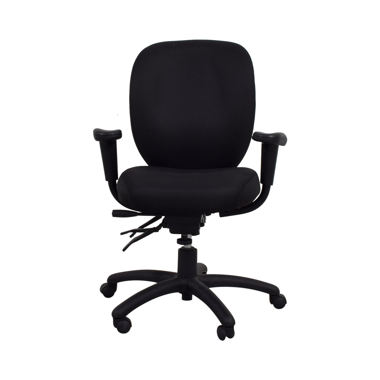 Offices to Go Offices to Go Black Quilt Office Chair discount