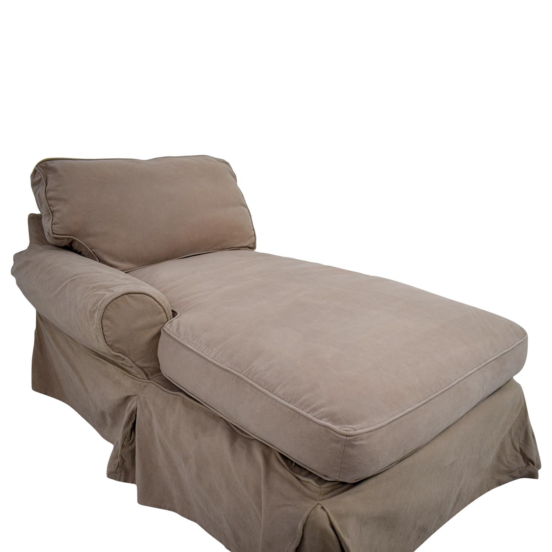 buy Pottery Barn Pottery Barn Left Arm Slipcover Chaise online