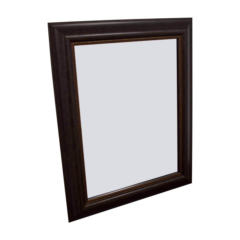 Wood Framed Mirror discount