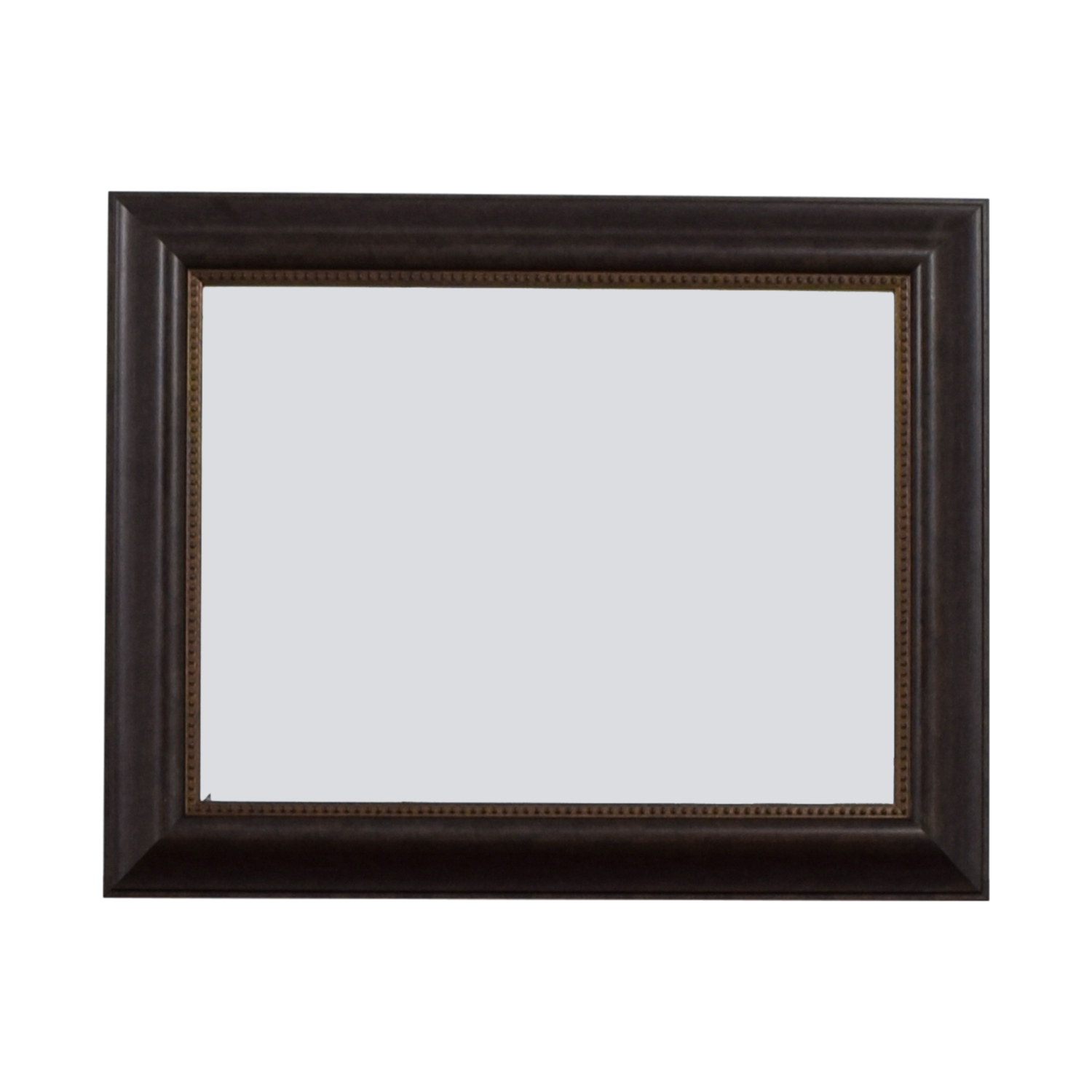 Wood Framed Mirror brown
