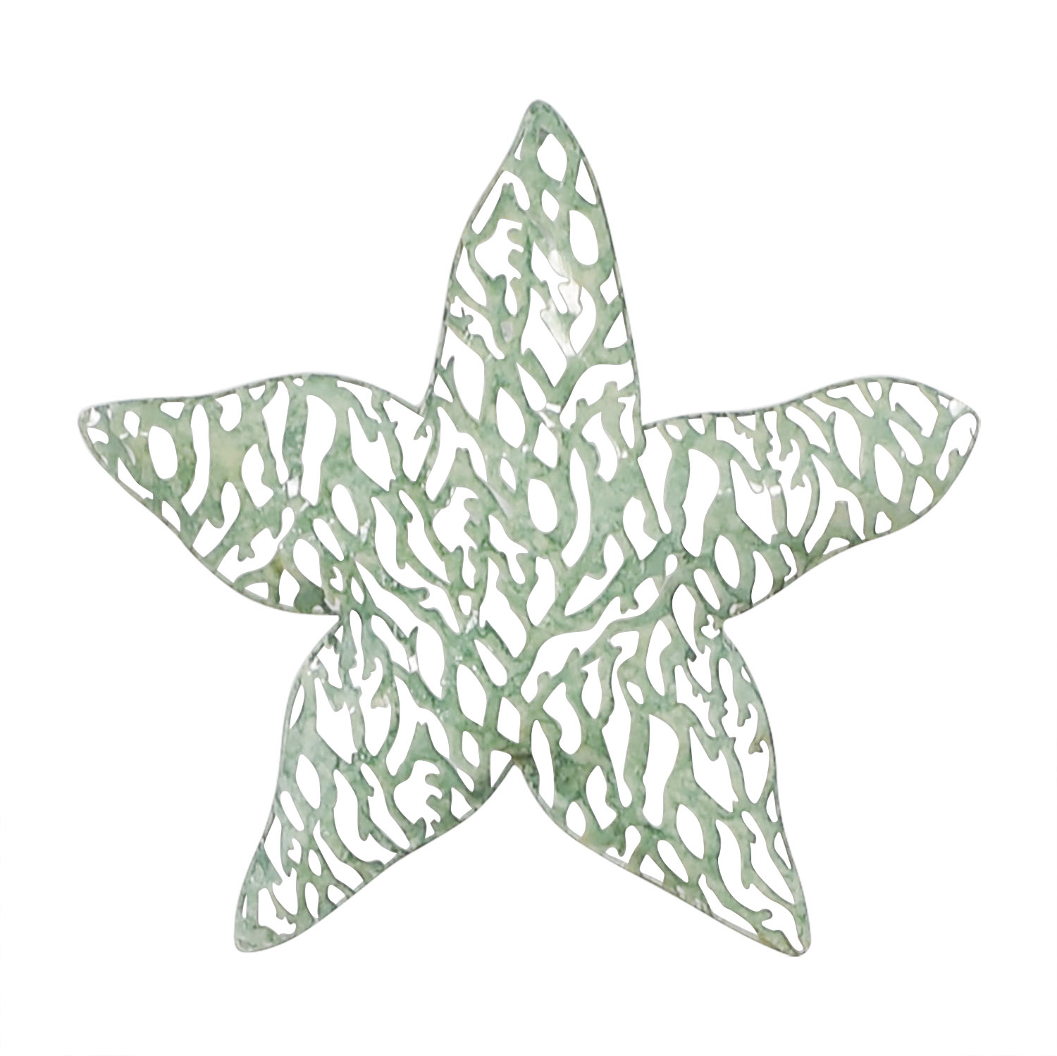 Green Metal Starfish second hand