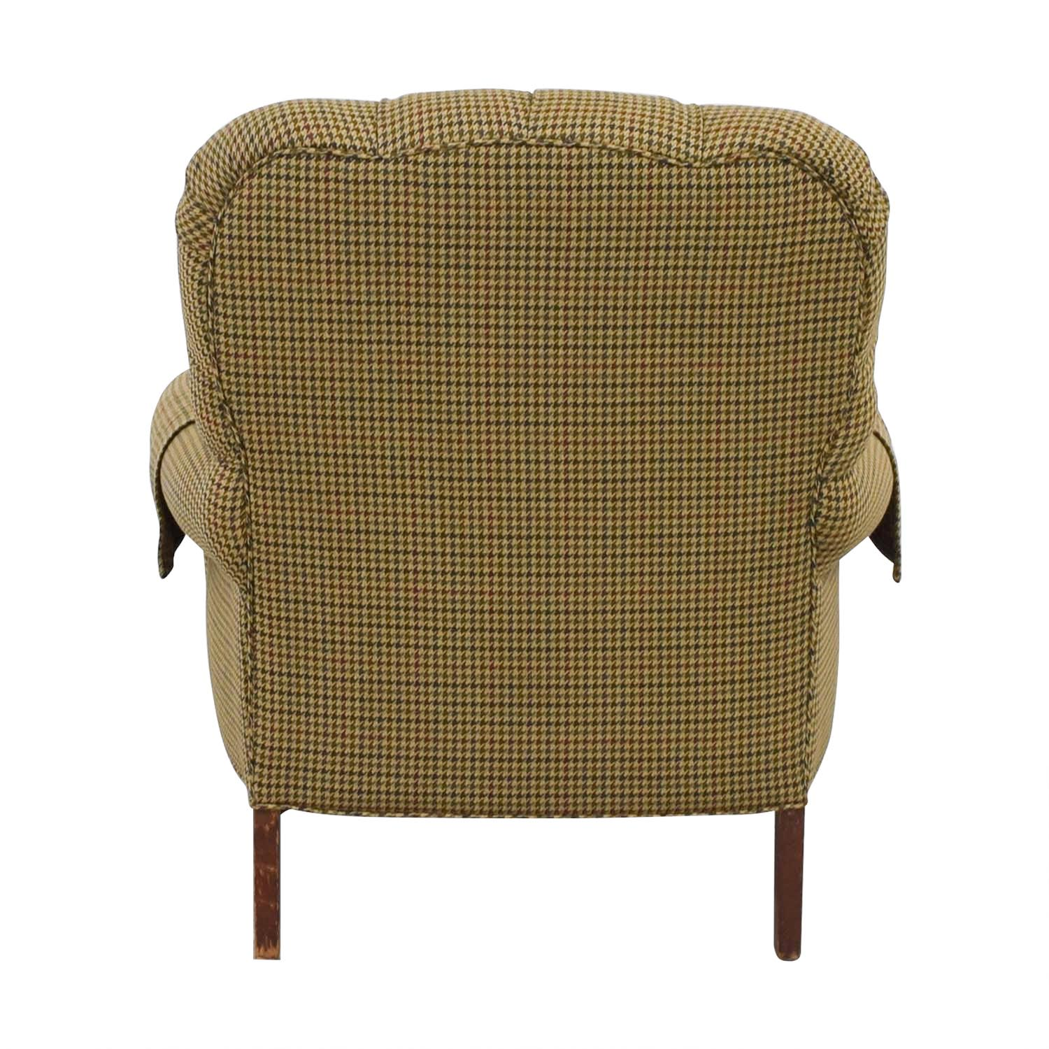 ... Designer Houndstooth Tufted Accent Chair / Accent Chairs ...