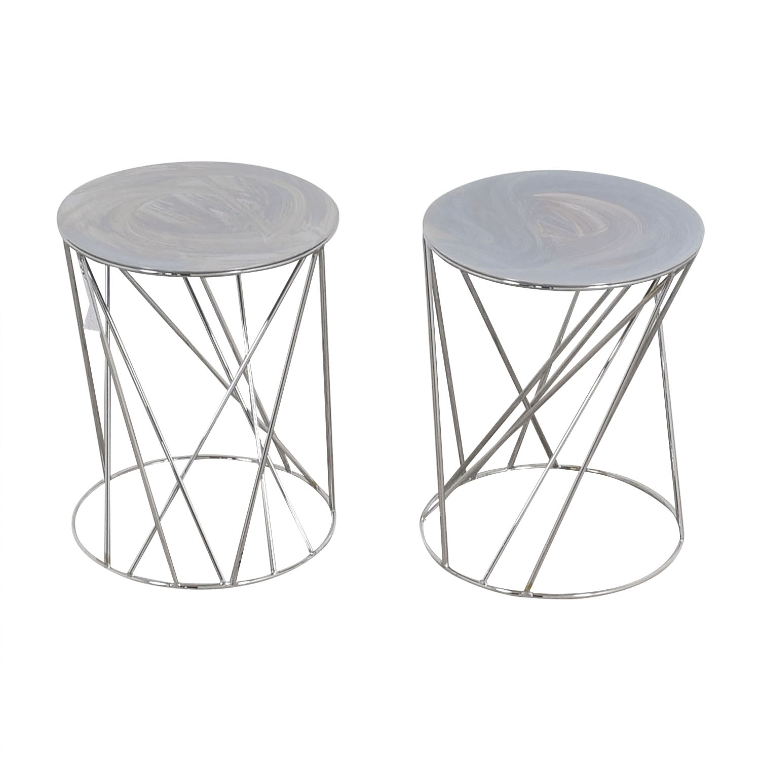 West Elm West Elm Mid-Century End Tables on sale