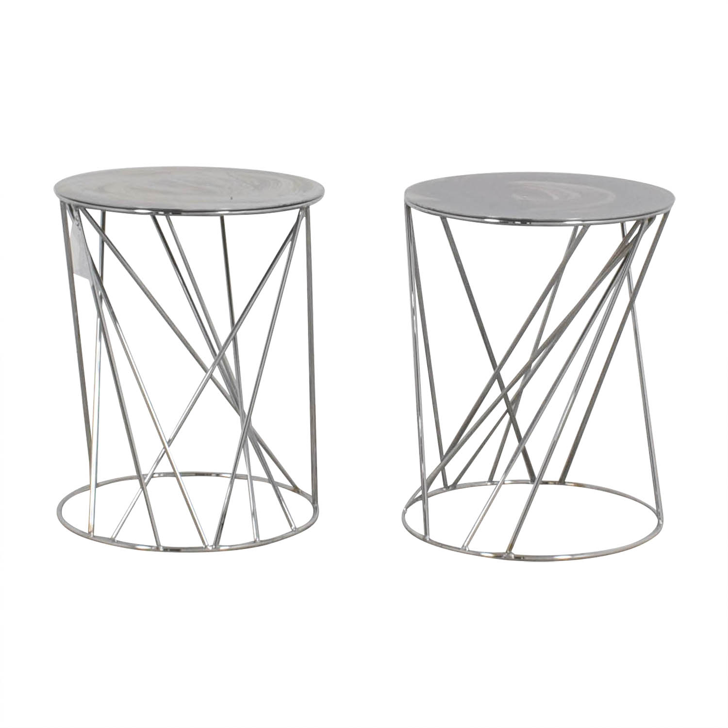 buy West Elm Mid-Century End Tables West Elm