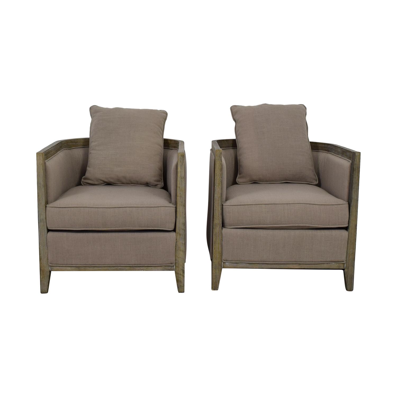 buy Carbon Loft Tull Beige Linen Lounge Accent Chairs Carbon Loft Accent Chairs