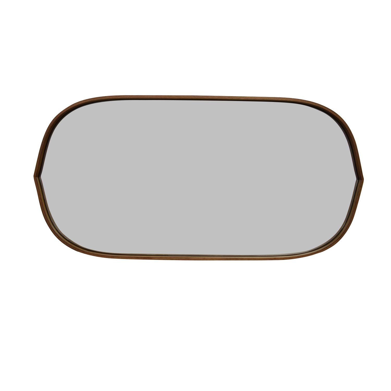 Pottery Barn Pottery Barn Substantial Mahogany Mirror discount