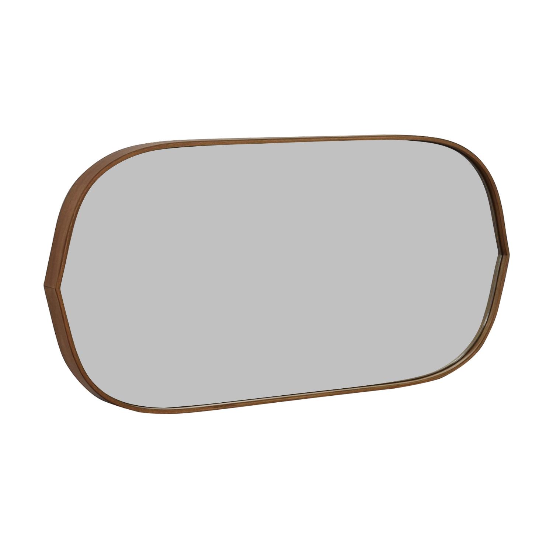 Pottery Barn Pottery Barn Substantial Mahogany Mirror price