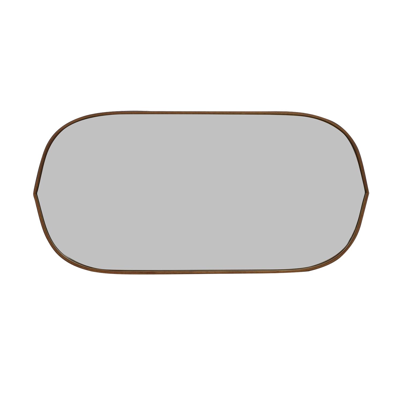 shop Pottery Barn Pottery Barn Substantial Mahogany Mirror online
