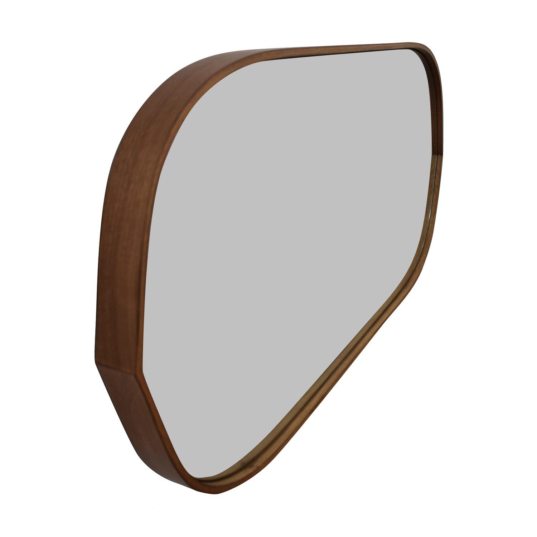 buy Pottery Barn Pottery Barn Substantial Mahogany Mirror online