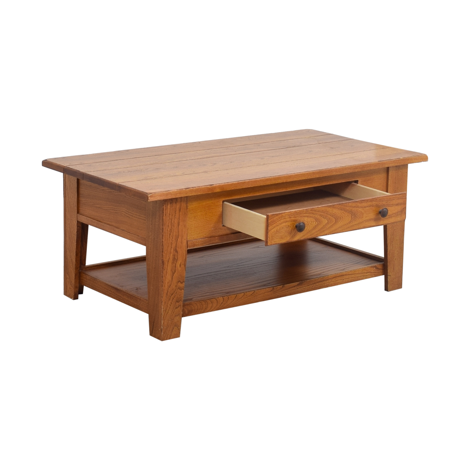 Wood Single Drawer Coffee Table sale