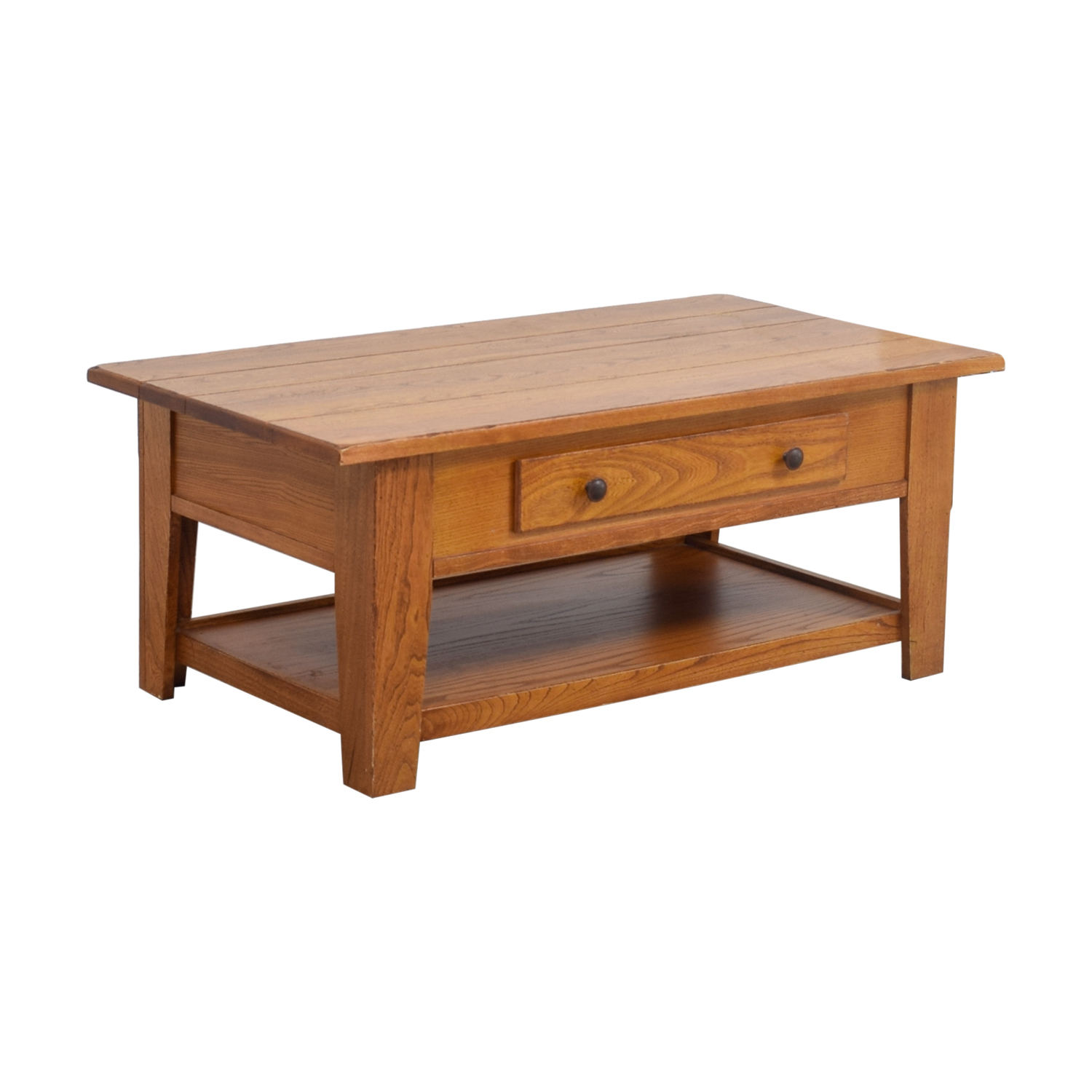 Wood Single Drawer Coffee Table Coffee Tables