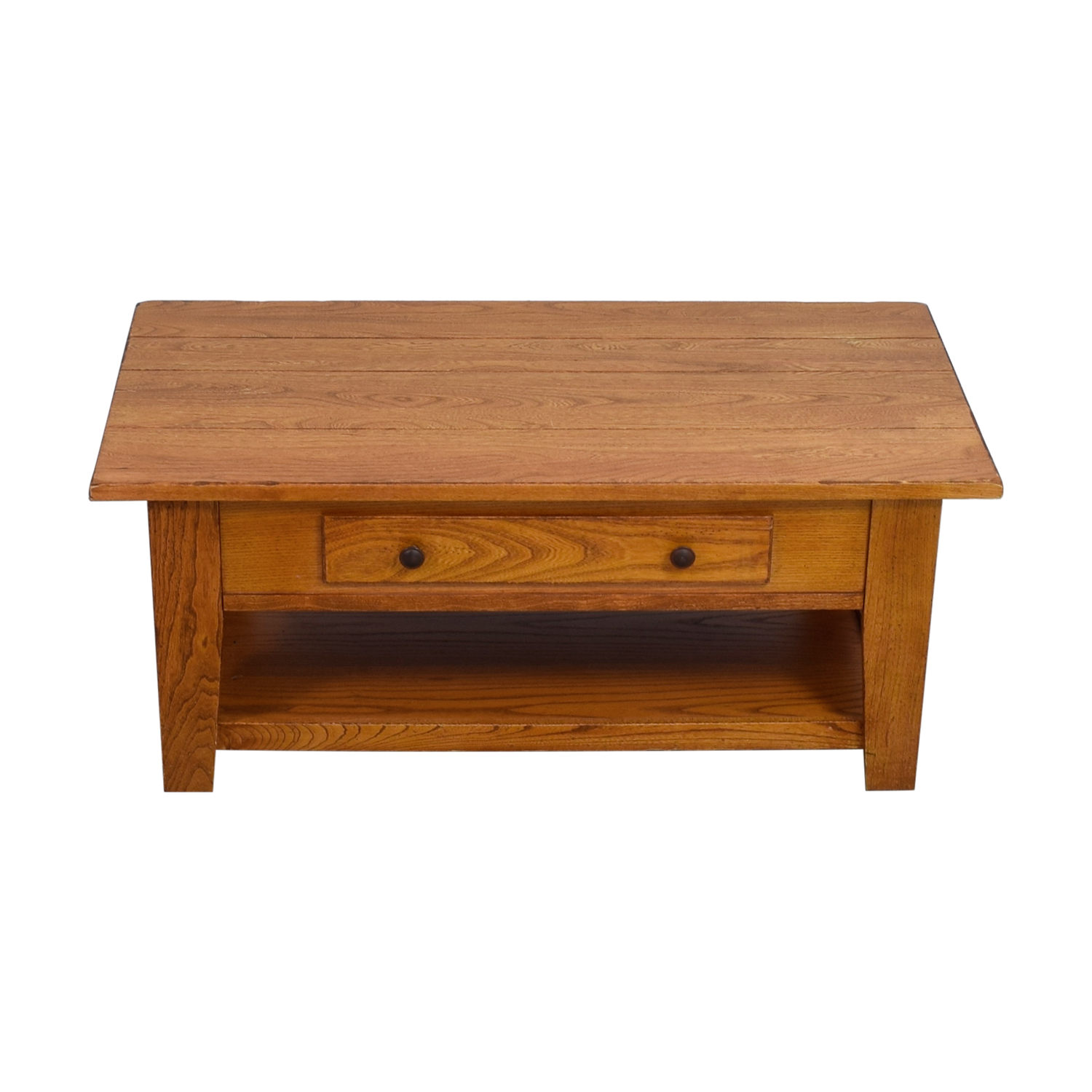 buy Wood Single Drawer Coffee Table  Coffee Tables