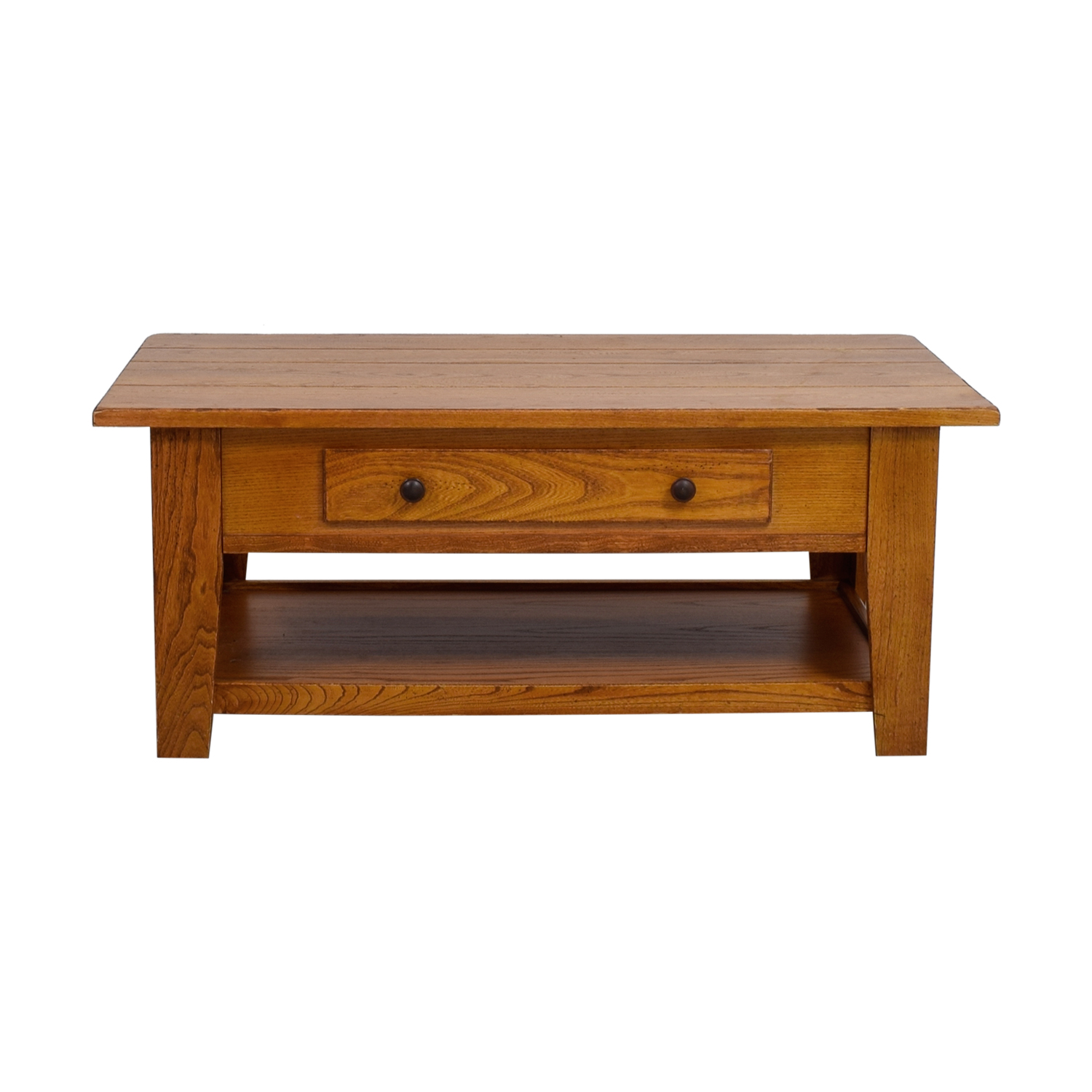 shop Wood Single Drawer Coffee Table  Coffee Tables