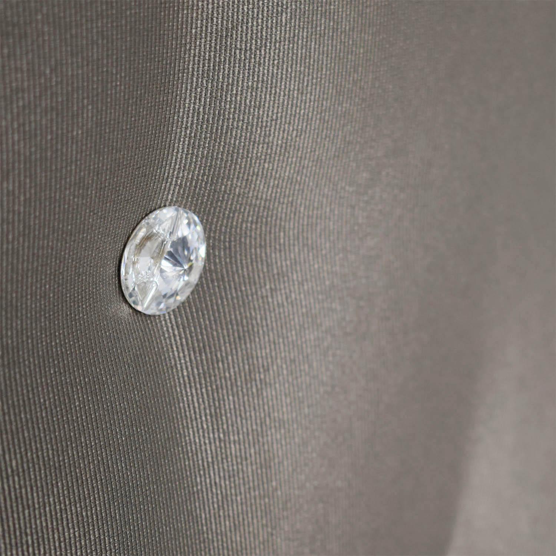 buy Taupe Diamond Tufted King Headboard Headboards