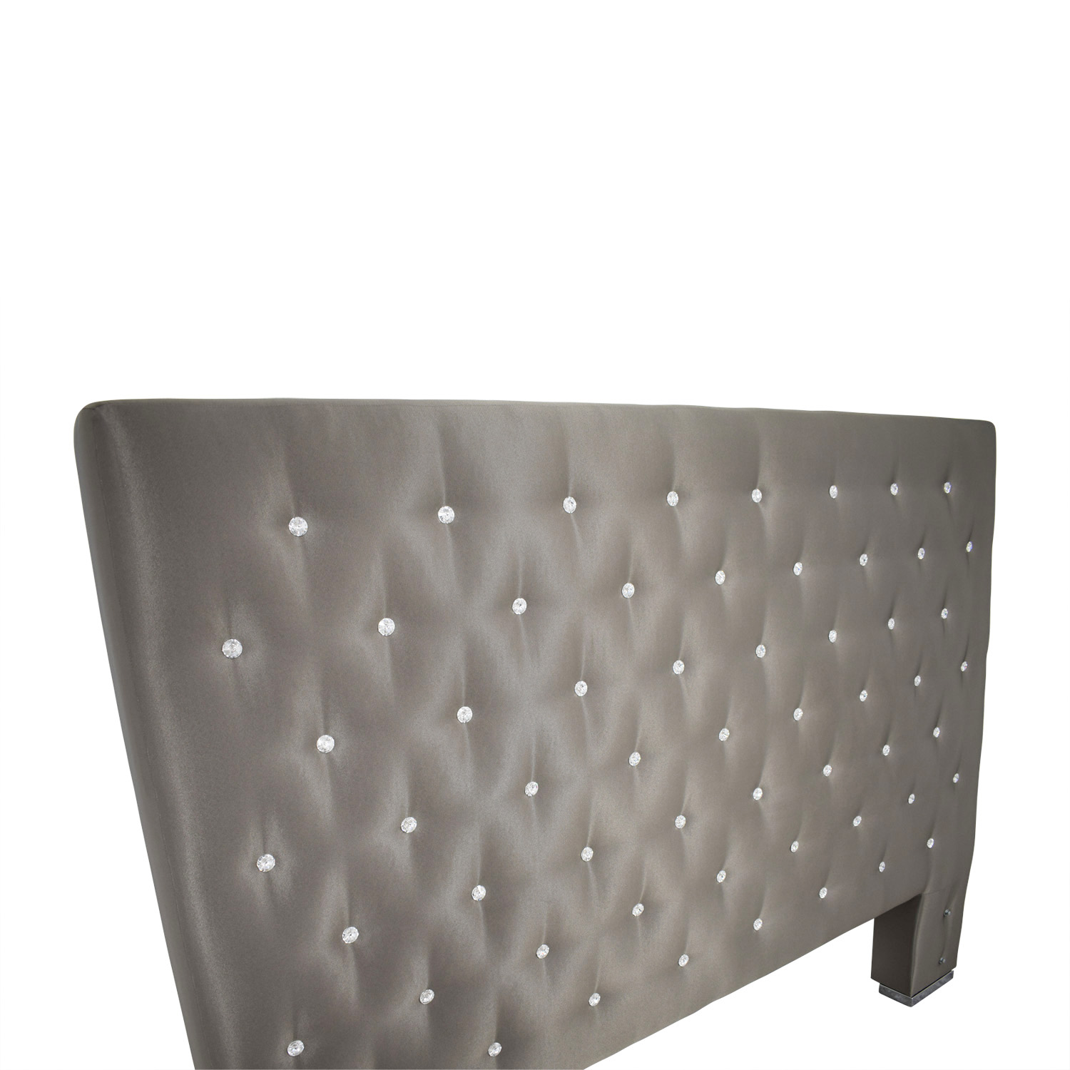 buy Taupe Diamond Tufted King Headboard online