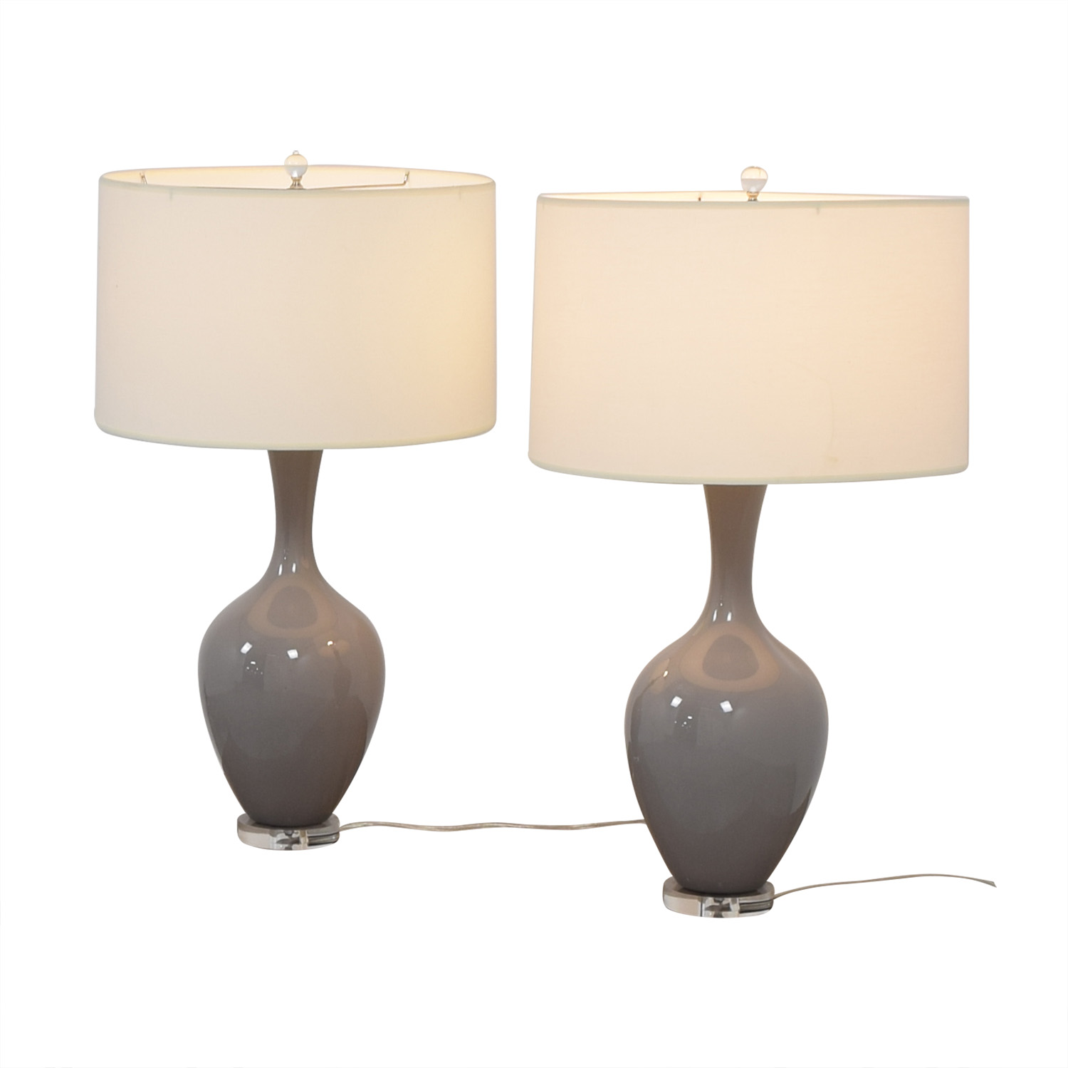 Grey Table Lamps for sale