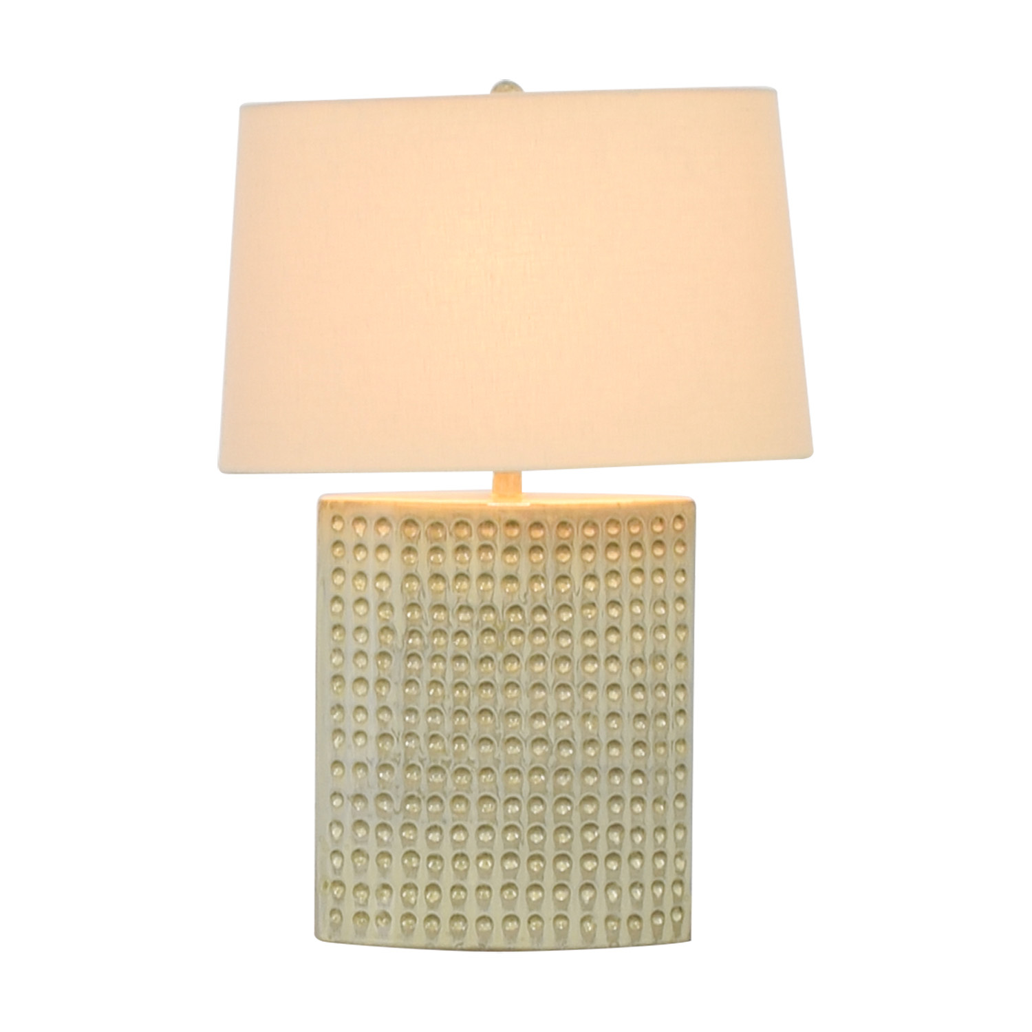 Crate & Barrel Crate & Barrel Ceramic Tatum Lamp for sale