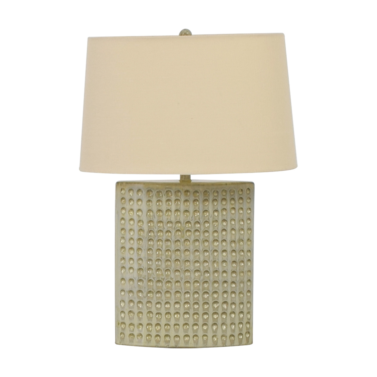 buy Crate & Barrel Ceramic Tatum Lamp Crate & Barrel