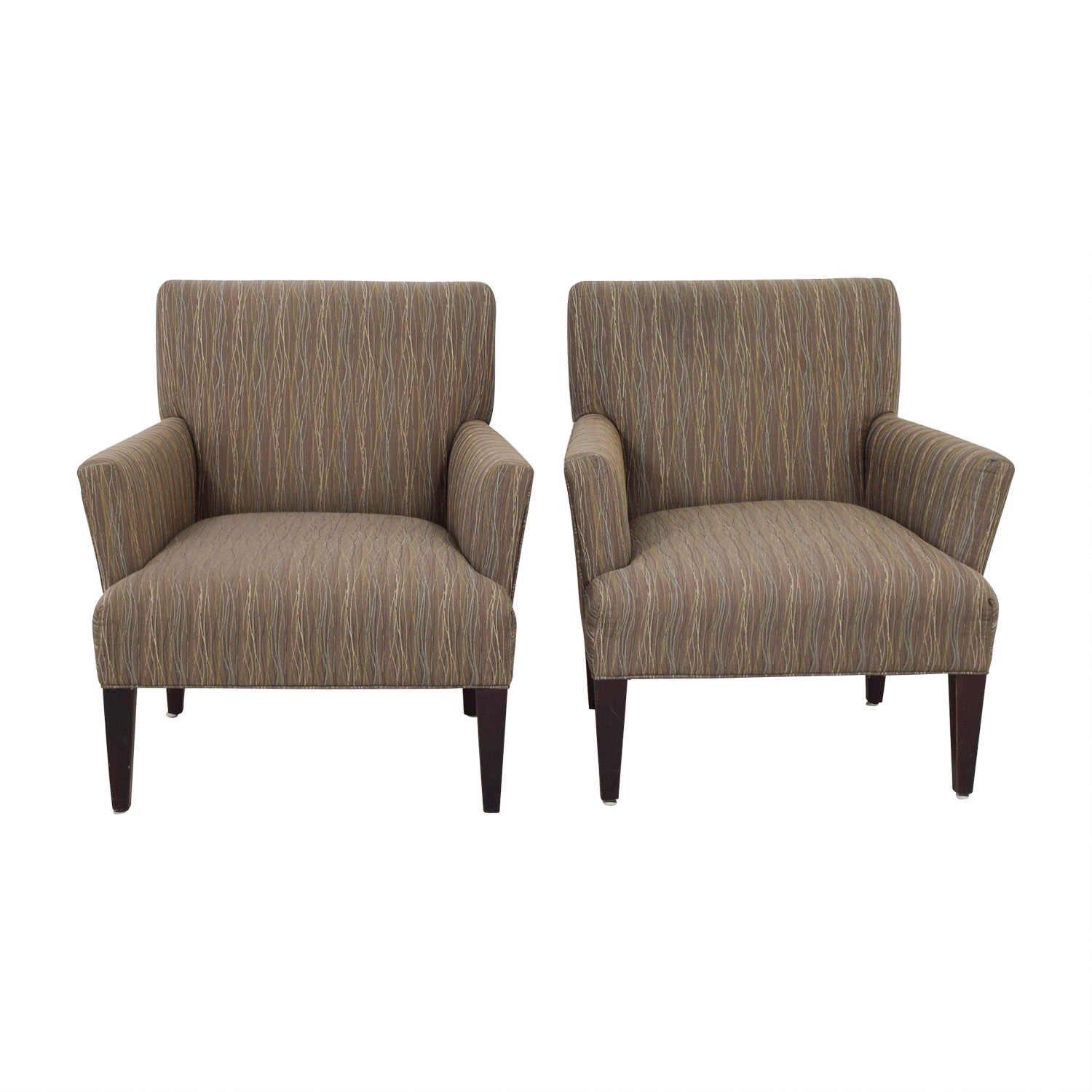 shop Room & Board Multi-Colored Patterned Armchairs Room & Board Accent Chairs